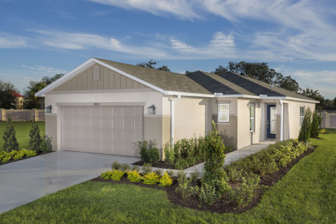 New KB homes now available in Orlando, Florida. (Photo: Business Wire)