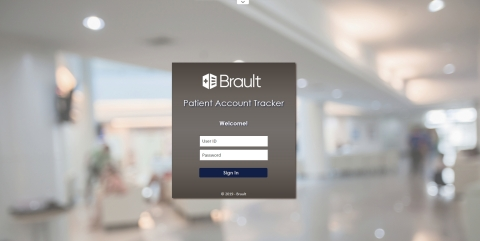 Brault Patient Account Tracker (PAT) - Login (Graphic: Business Wire)