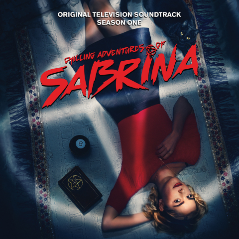 Chilling Adventures of Sabrina - Season 1 Soundtrack Cover Art (Graphic: Business Wire)