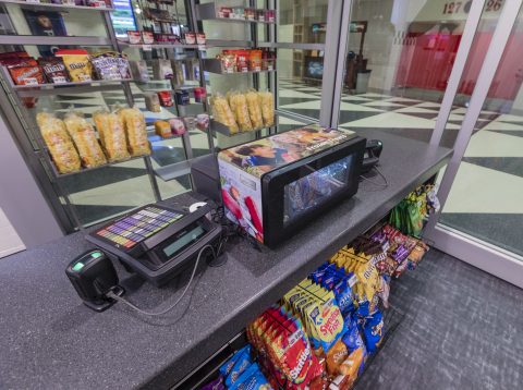 Phononic's F200 Merchandising Freezer featured in the PNC Arena grab-and-go eatery. (Photo: Bob Leverone)