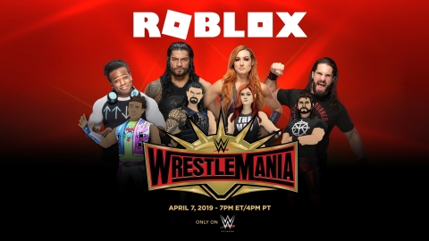 Roblox and WWE Partner to Celebrate WrestleMania (Photo: Business Wire)