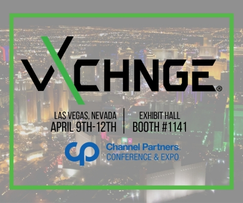 vXchnge Exhibiting at Channel Partners 2019. Booth #1141 (Photo: Business Wire)