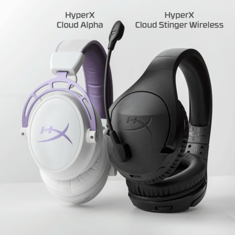 Cloud Alpha Purple and Cloud Stinger Wireless (Photo: Business Wire)