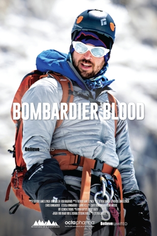 """The New York City Hemophilia Chapter (NYCHC), Octapharma USA and international non-profit Save One Life will present the first New York City screening of """"Bombardier Blood"""" at 1:30 p.m., Sunday, April 14th at the AMC Empire 25, 234 West 42nd Street in Times Square. Octapharma is the sponsor of the free NYC screening and """"Bombardier Blood,"""" the documentary that features the incredible journey of Chris Bombardier, the first person with hemophilia to climb Mount Everest and the Seven Summits. (Photo: Business Wire)"""