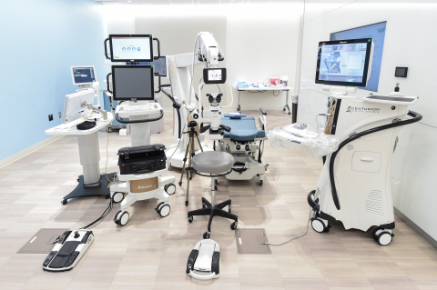 Alcon is the global leader in surgical eye care with best-in-class equipment platforms and the largest installed base of surgical equipment, including equipment for cataract, vitreoretinal, glaucoma and refractive surgery. (Photo: Business Wire)