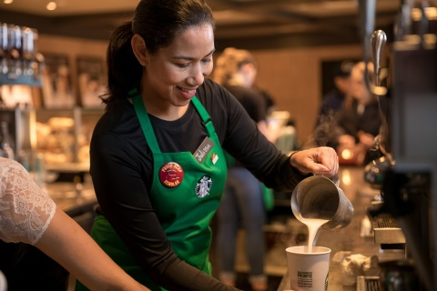 On April 2, as part of the program's progress, Starbucks announced the expansion of its education initiative into the United Kingdom, providing eligible partners 100% tuition coverage for online university degree programs with Arizona State University. At launch, the program will be available to 100 partners to allow Starbucks to establish demand, with the ambition to adapt and scale based on partner feedback. (Photo: Business Wire)