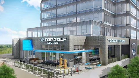 The 7,761 square-foot Kirkland location will be the first Topgolf Lounge set to open later this year. (Photo: The Beck Group)