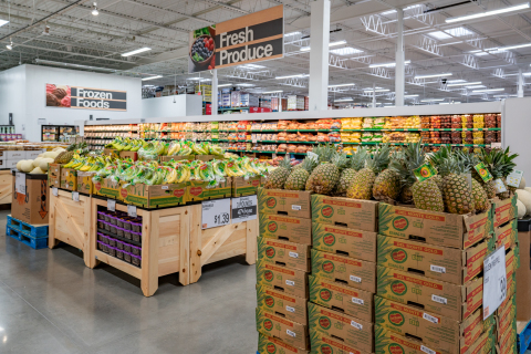 BJ's Wholesale Club opened its newest location in Clearwater, Fla. on April 6, 2019. BJ's Clearwater club is located at 26996 US Highway 19N and offers incredible value on a large selection of fresh food including produce, meat and bakery items. (Photo: Business Wire)
