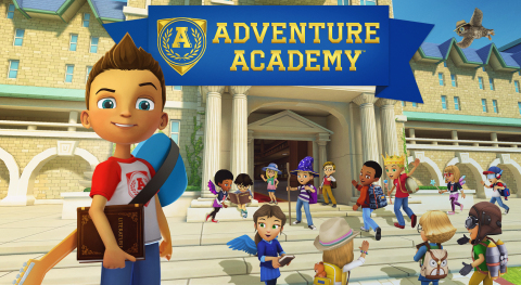 Age of Learning, the creator of the highly successful ABCmouse, today announced the upcoming release of Adventure Academy, a massively multiplayer online game for elementary and middle school age children. (Graphic: Business Wire)