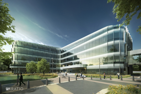 New Zotec Headquarters - architectural rendering (Graphic: Business Wire)