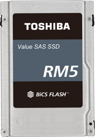 RM5 SSDs are single-ported versions of Toshiba Memory's robust enterprise SAS product family and provide higher performance per slot than competing SATA SSDs. (Photo: Business Wire)
