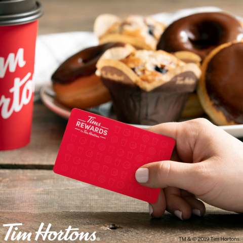 Introducing Tims Rewards by Tim Hortons® in the U.S. (Photo: Business Wire)
