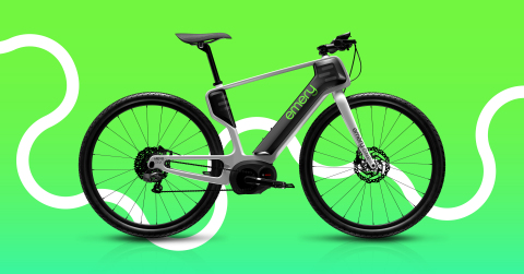 The new Emery ONE eBike, featuring a unibody bike frame construction uniquely enabled by the AREVO technology that is setting a new benchmark in high-performance bikes (Photo: Business Wire)
