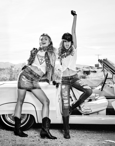 Introducing the GUESS Summer 2019 Advertising Campaign (Photo: Business Wire)