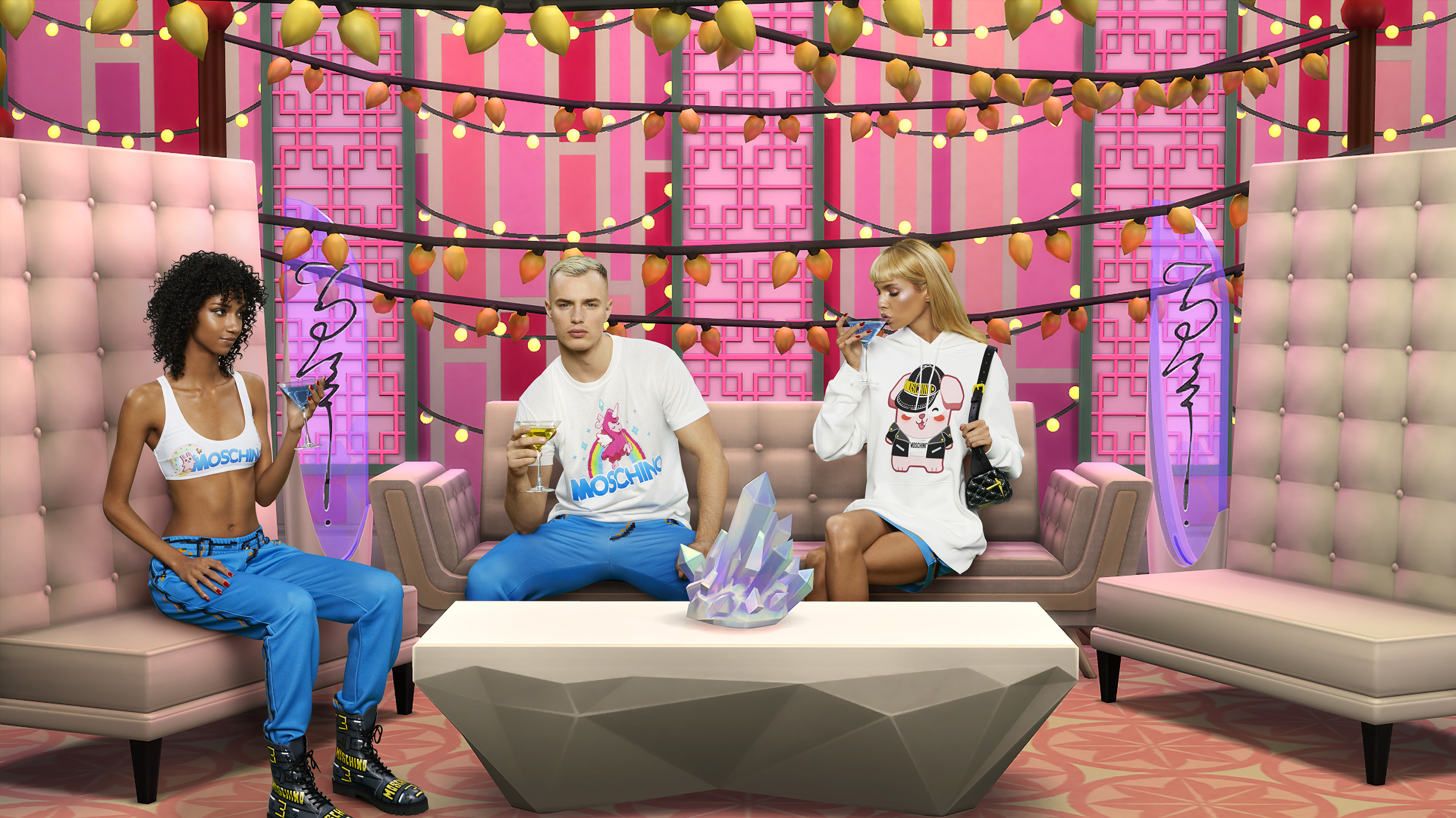 The Sims Reveals A Collaboration With Italian Luxury Fashion House Moschino Business Wire