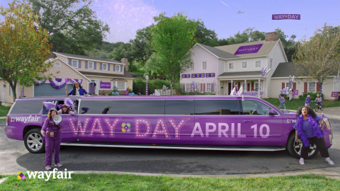 Way Day is Here! Wayfair Kicks Off its Retail Holiday for Home Today with Lowest Prices of the Year and Free Shipping for a Full 36 Hours (Photo: Business Wire)