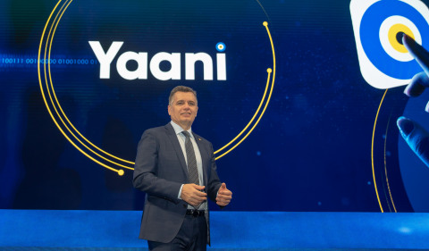 Murat Erkan, Turkcell CEO, today announced Turkcell's AI-powered personal assistant Yaani at Turkcell Technology Summit in İstanbul. (Credits: Turkcell CEO)