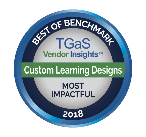 CLD was one of three winners in the category of Most Impactful Vendor (Vendor Insights Practice) by TGaS Advisors (Graphic: Business Wire)