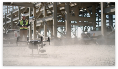FLIR Systems makes a strategic investment in DroneBase, a global drone operations company that provides businesses access to one of the largest Unmanned Aerial Surveillance pilot networks. FLIR becomes the exclusive provider of thermal imaging cameras for the DroneBase pilot network. (Photo: Business Wire)
