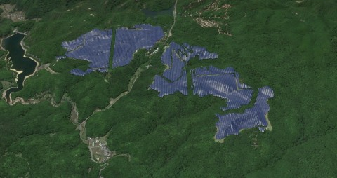 Ako Mega Solar Power Plant Completion Image (Photo: Business Wire)