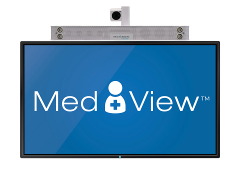 MedView Mounted on TV (Photo: Business Wire)