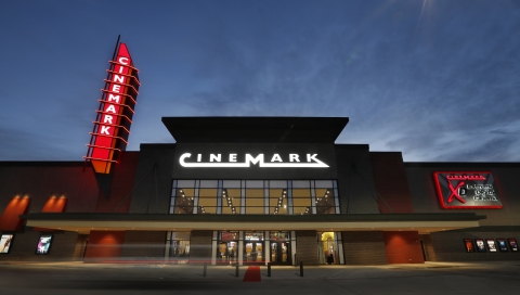 Cinemark's new 14-Screen Theatre in North McKinney has an XD auditorium, Luxury Loungers and expande ...
