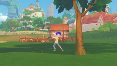 The My Time at Portia game is available April 16. (Photo: Business Wire)