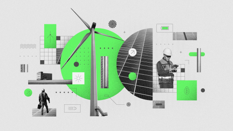 Last year, Apple and its suppliers participated in clean energy generation that roughly equaled the  ...