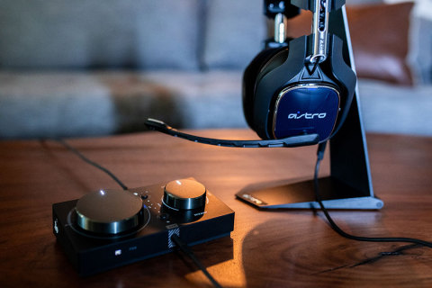 Introducing the fourth generation of the award-winning A40 Tournament Ready (TR) gaming headset and MixAmp Pro TR technology; delivering the industry's most innovative audio experience available. (Photo: Business Wire)