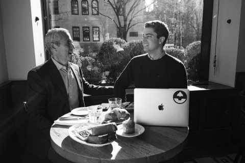 Danny Meyer, Founder & CEO of Union Square Hospitality Group and Nick Miller, Co-founder & CEO of Gather.