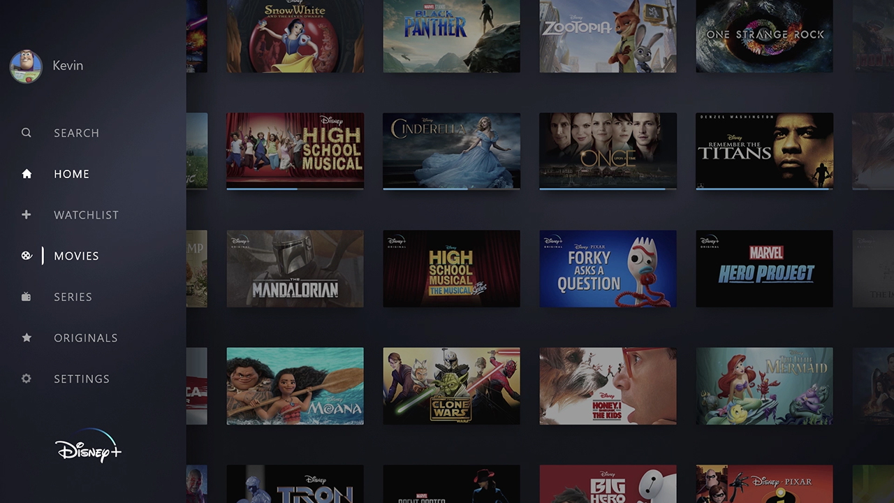 The content featured in this video reflects shows and movies that will be available on the service during its first year, with the majority available upon launch.