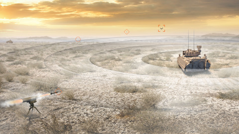 BAE Systems' 360 Multifunction Vehicle Protection (MVP) Sensor provides 360-degree visibility and threat warning capabilities day or night despite challenging battlefield conditions. (Image: BAE Systems, Inc.)