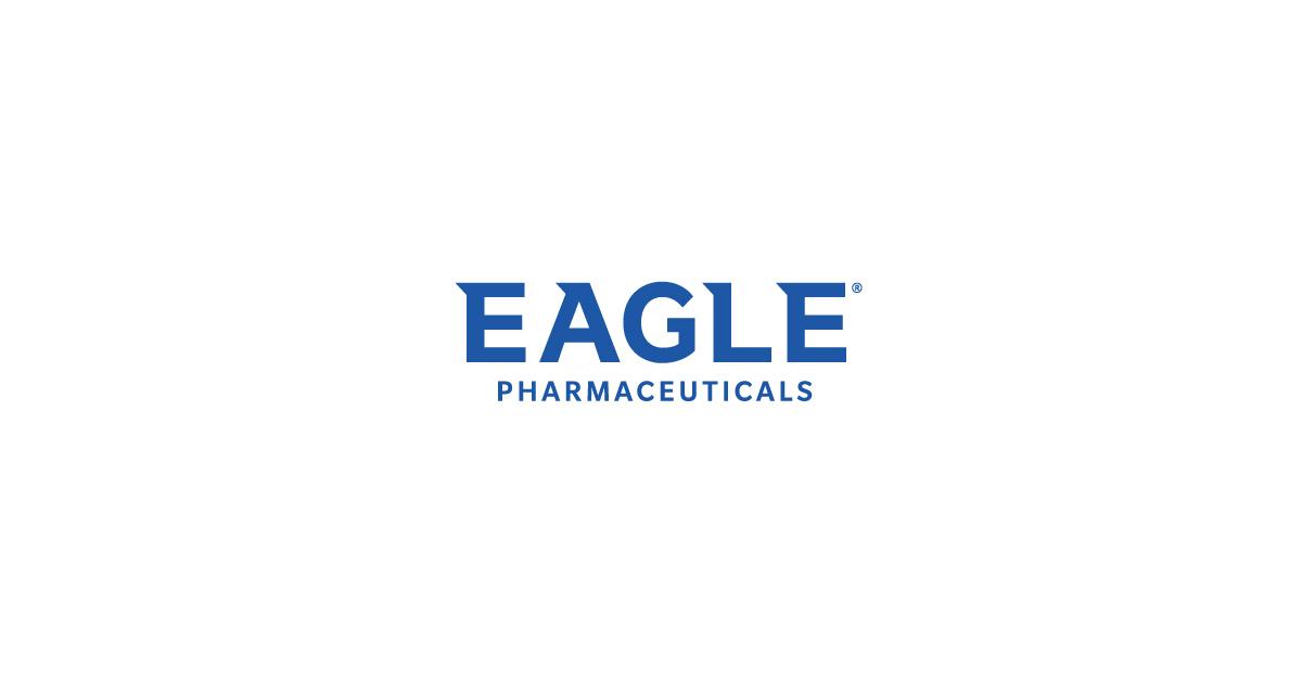 verschillende kleuren detaillering geweldige prijzen Eagle Pharmaceuticals, Inc. Expands Licensing Agreement for ...