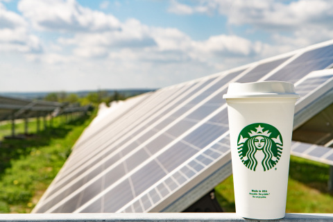 On April 15, 2019, Starbucks Coffee Company, Cypress Creek Renewables and U.S. Bank announced they are teaming up on a portfolio of solar farms across Texas. (Photo: Business Wire)