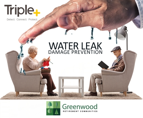 Greenwood Retirement Communities Installs Triple+ Wireless Waterleak Prevention System (Photo: Business Wire)
