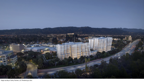 Warner Bros. will expand into two Frank Gehry-designed office buildings adjacent to its main lot in the Burbank Media District. (Photo: Gehry Partners, LLP)