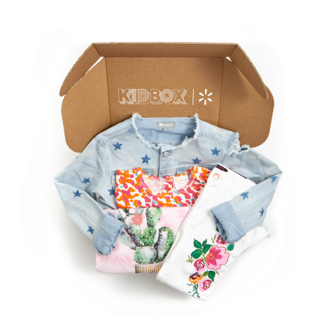 Walmart Partners with Kidbox to Deliver Premium, Personalized Kids' Fashion to Parents' Front Doors (Photo: Business Wire)