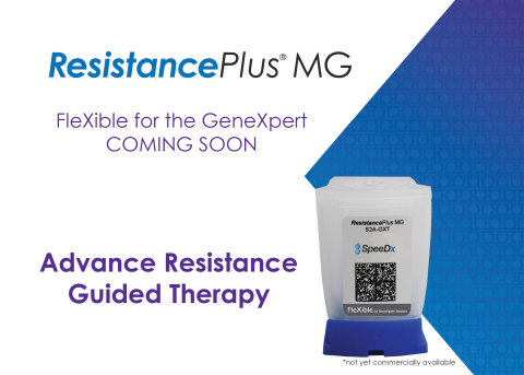 ResistancePlus MG will be the first assay available through the Cepheid FleXible for GeneXpert program.
