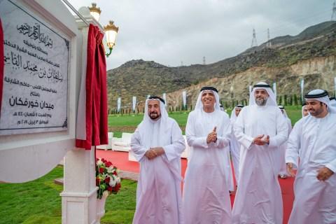 HH Sheikh Dr. Sultan bin Mohamed Al Qasimi, Supreme Council Member and Ruler of Sharjah, inaugurates ...