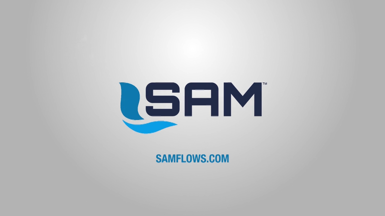 Watch an animated demo showing how the SAM Control System manages water flow.
