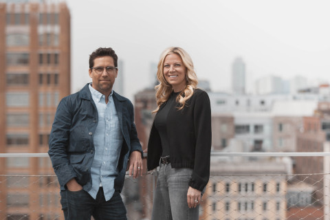 From Left to Right: Havas NewYork Chief MarketingOfficer Matthew Anderson and Havas New York Chief Executive Officer Laura Maness. (Photo: Business Wire)