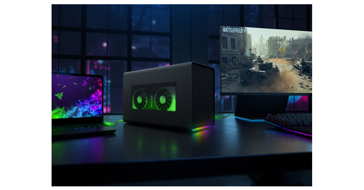 Razer Supercharges Windows Laptops and MacBooks with the New