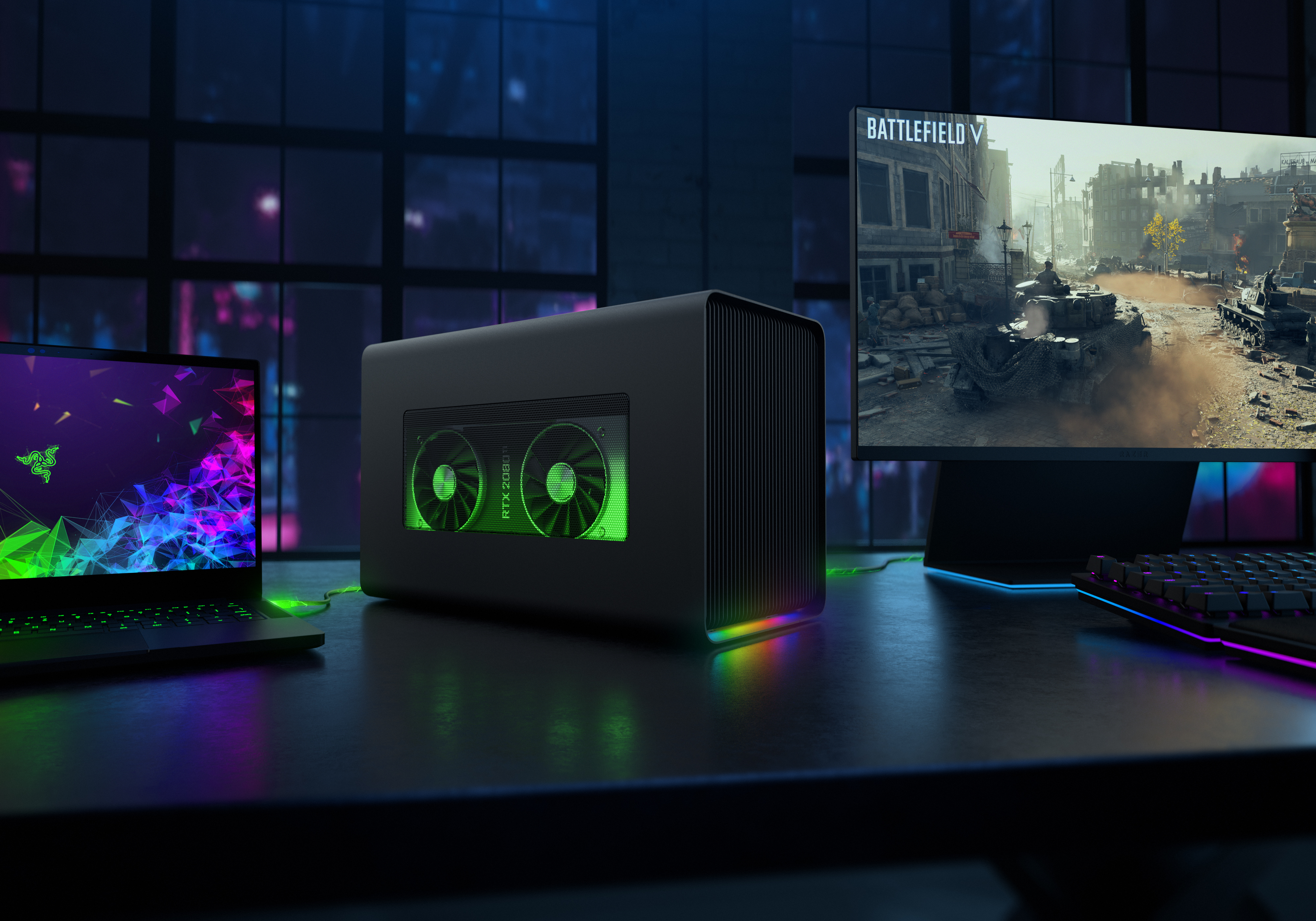 Razer Supercharges Windows Laptops and MacBooks with the New Core X