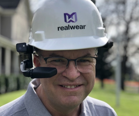 Rocky Scales joins RealWear to expand business growth (Photo: Business Wire)