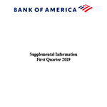 Q1 2019 Bank of America Supplemental Information