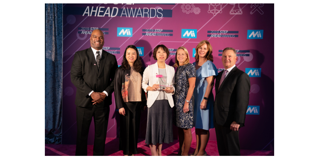 AGCO Production Manager Jane Song Recognized with STEP Ahead