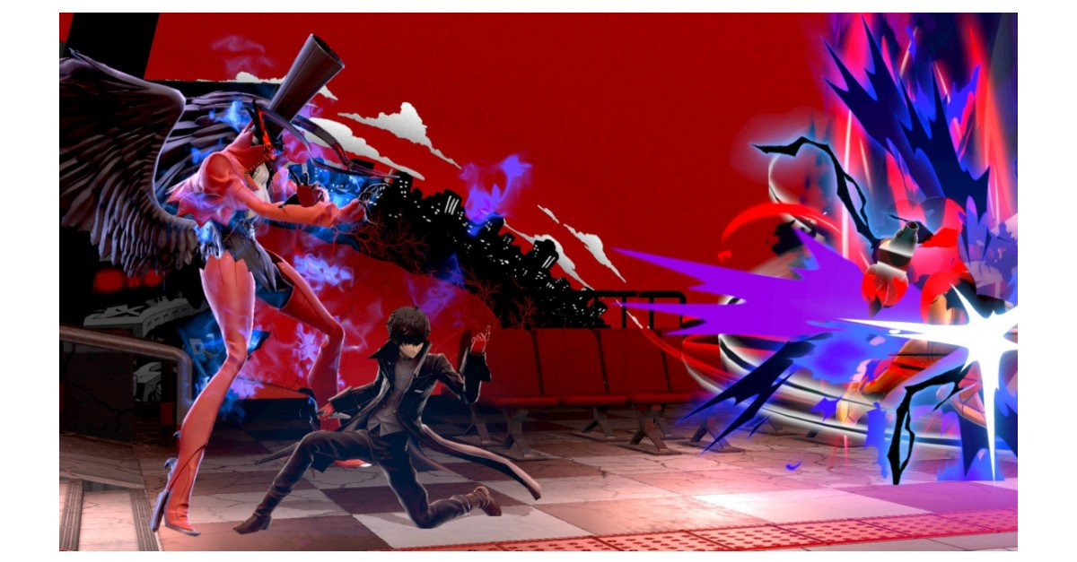 Joker from Persona 5 Joins the Battle in Super Smash Bros