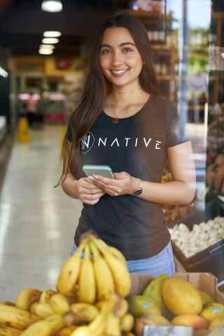 Native collector in the market (Photo: Business Wire)