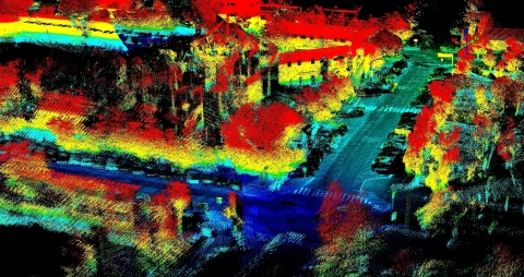 Techmake Solutions relies on Velodyne's rich computer perception data in its Eagle X mapping and surveying system. (Photo: Business Wire)