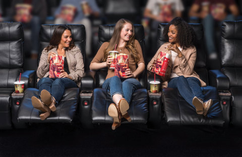 The new Cinemark Watchung and XD Theatre will have Luxury Loungers in all auditoriums. These are ele ...